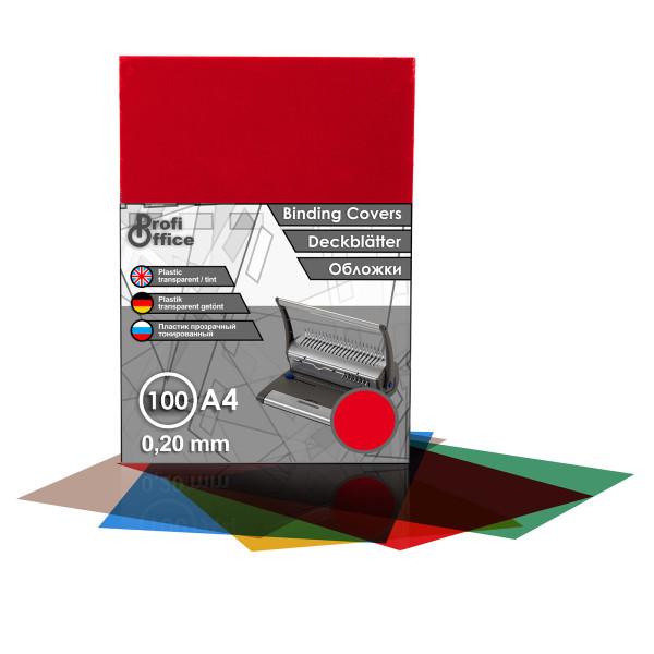 100 DIN A3 Klarsichtfolien 0,20 mm Deckblätter transparent